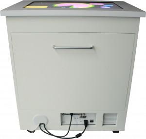 The Virttable (Versatile Illumination Touch Table)
