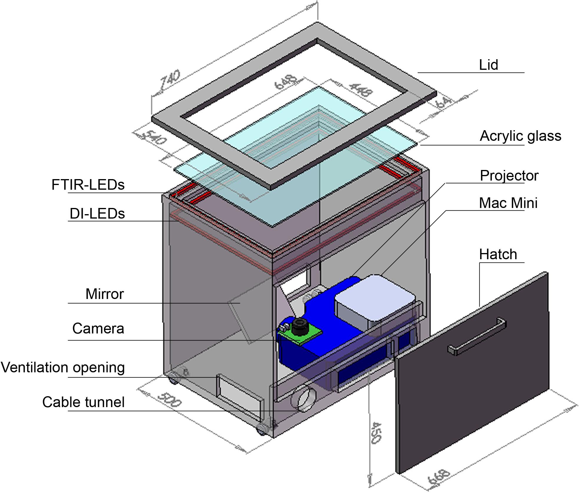 The Multi-Touch Table Virttable [Update] « Hochschule Rheinmain ...