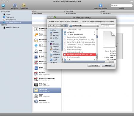 iPhone-KonfigurationsprogrammSchnappschuss008