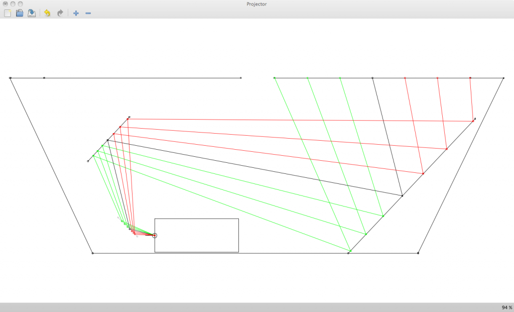 Twintable Projection Scheme