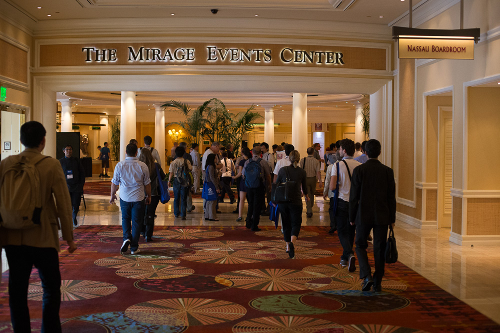 HCI-I 2013 @ The Mirage Convention Center, Las Vegas 4