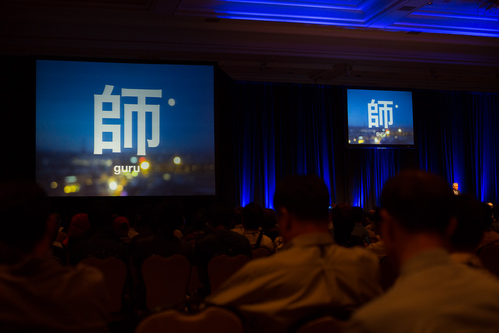 Keynote of Hiroshi Ishii at the HCI International 2013 at The Mirage in Las Vegas