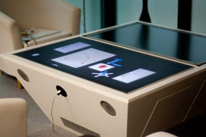 Read more about the tangible interaction system the TwinTable