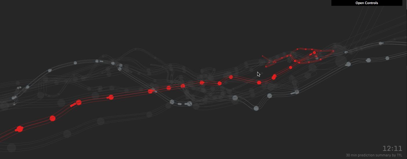 3D Visualization London Underground