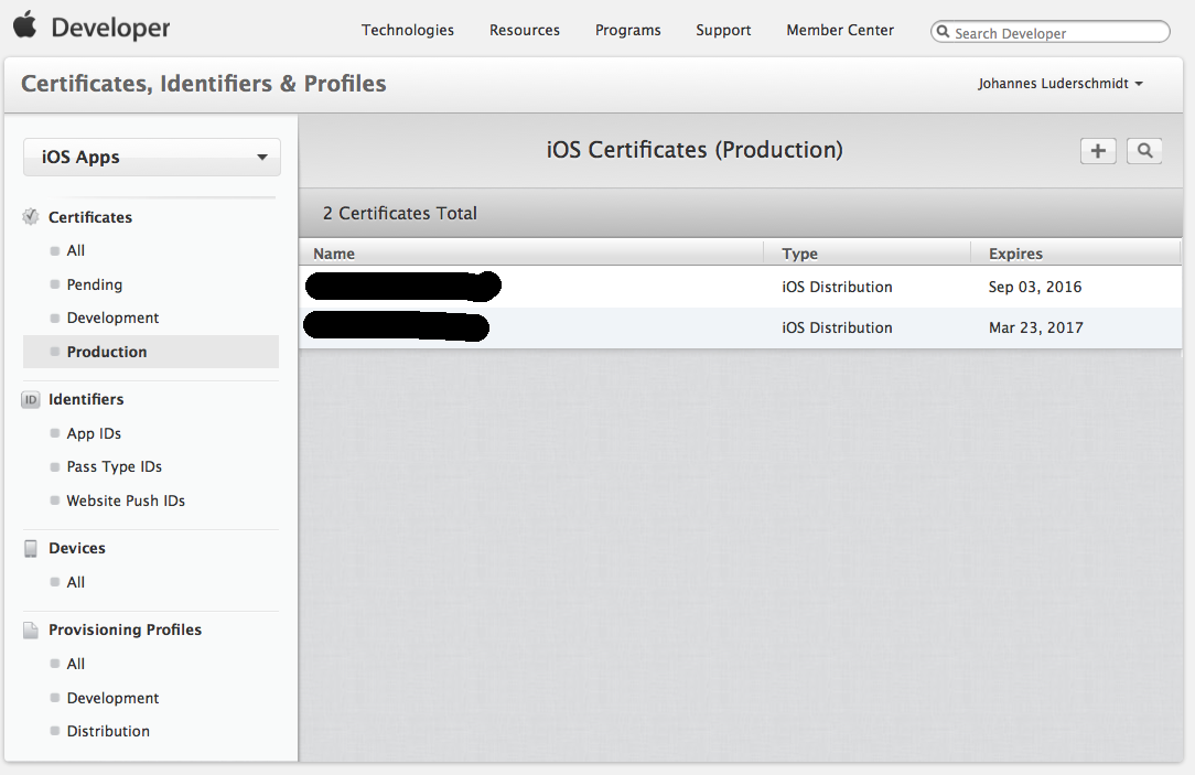 Provision Ios Ipa App For In House Enterprise Distribution Apple